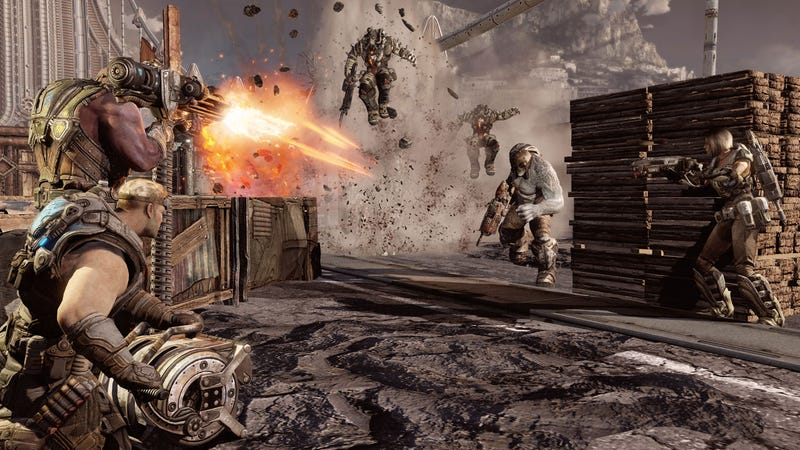 Seeing How the Other Half Fights in Gears of War 3's Pulp Fiction-inspired Campaign