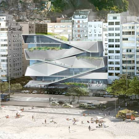 Museum of Image and Sound to Stand as Rio de Janeiro's Next Beachside Attraction