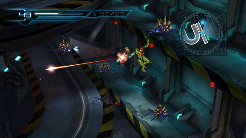 Metroid: Other M Screens