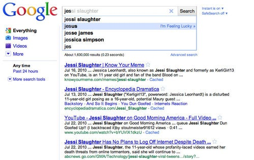 Is Jessi Slaughter More Popular Than Jesus?