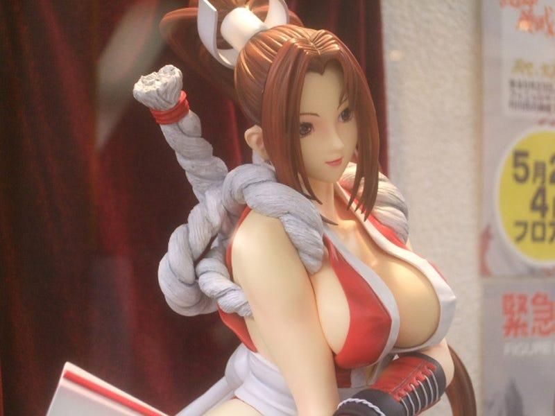 Nothing Says Charity Auction Like Mai Shiranui