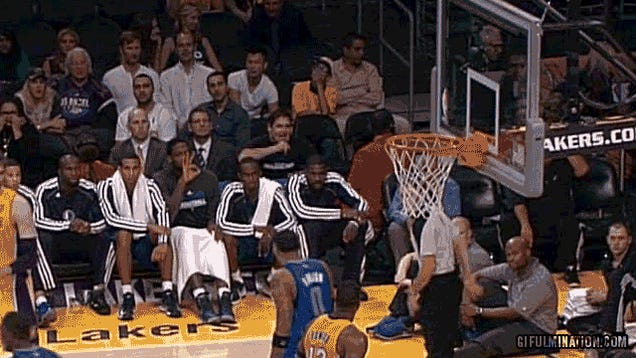 Mark Cuban Turned Into A Crazy Penguin When Dwight Howard Fouled Out