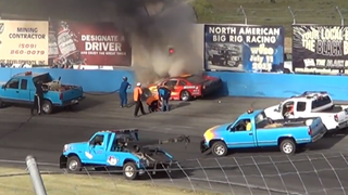 Late Model Crash Shows Why You Should Let Responders Do Their Jobs