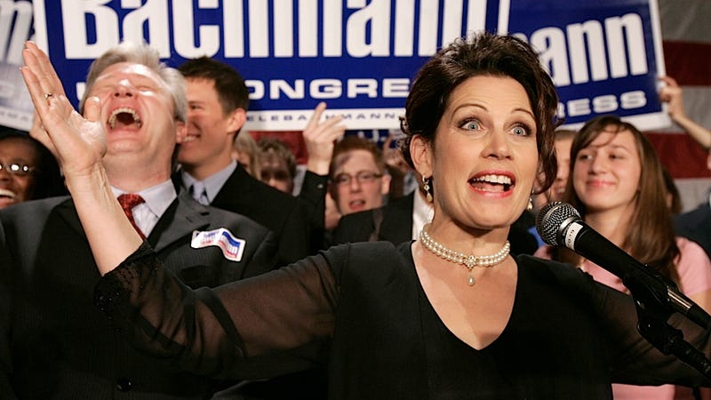 Michelle Bachmann Is Back Like the Freddy Krueger of Your Political Nightmares