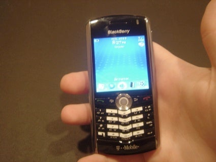 Full Specs for the Blackberry Pearl 8100