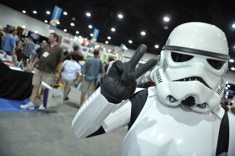 We Didn't Go to Comic-Con and All That We Got Was This Lousy Photo Gallery