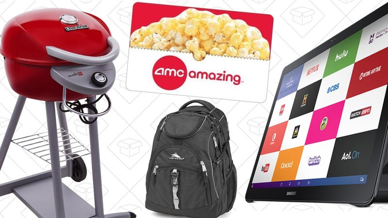 Sunday's Best Deals: Samsung Galaxy View, High Sierra, Char-Broil, and More