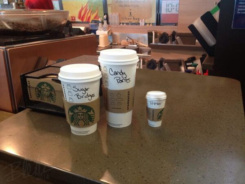 Guess who's coffee is who's?
