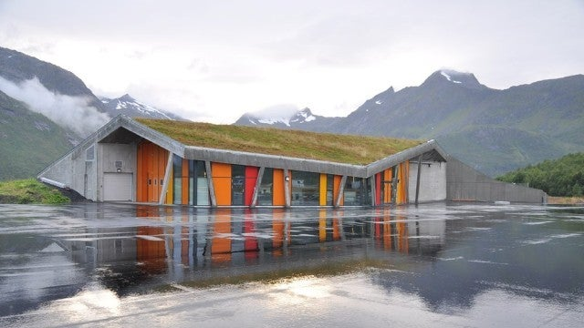 Is this the World's Most Beautiful Truck Stop?