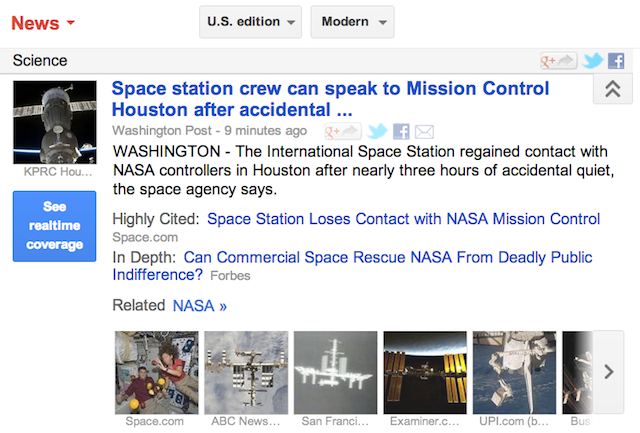 NASA LOSES CONTACT WITH SPACE STATION AND oh wait everything's totally fine — OR IS IT?