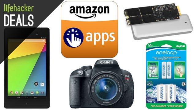 Deals: Over $100 in Free Apps, Eneloop AAs, MacBook Storage Upgrades