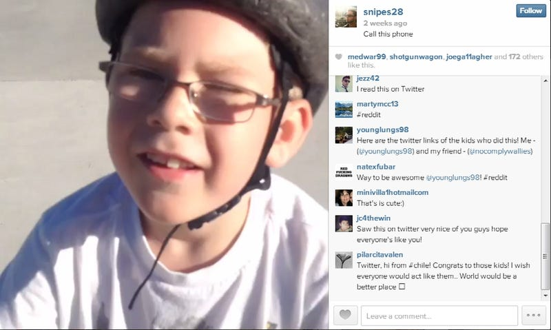 Kids Find Guy's Lost Phone, Post Video on His Instagram to Let Him Know