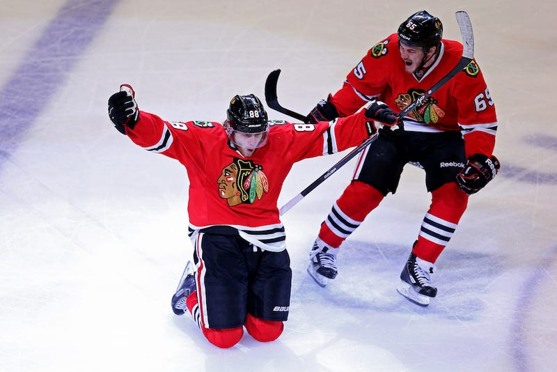 Patrick Kane Finally Scores A Goal The Kings Can't Come Back From