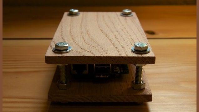 Make an Oak Raspberry Pi Case for Less Than $10
