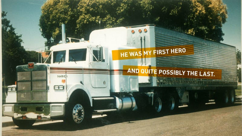 My Old Man, On The Scales: Was My Racist Truck-Driver Father A Hero?