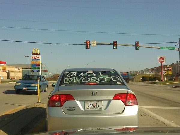 "The Opposite Of ""Just Married"""