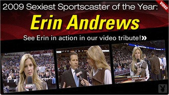 Erin Andrews Once Again Disposes Of All Sexy Sportscasting Competition