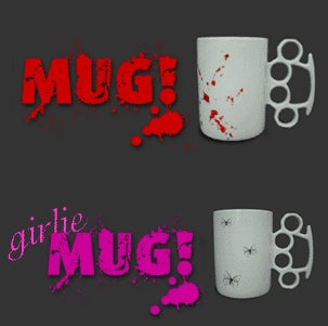 Mug! For! Aggressive! Caffeine! Addicts!