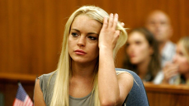 Lindsay Lohan Charged With Felony Grand Theft