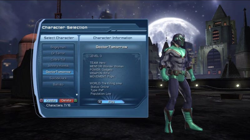 Why Jim Lee Can't Reveal His True Character in DC Universe Online
