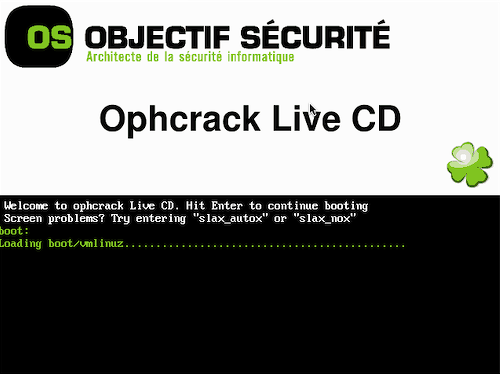 Screenshot Tour: How to crack a Windows password with Ophcrack Live CD