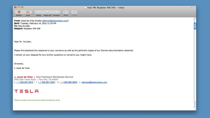 Tesla Emails Gallery