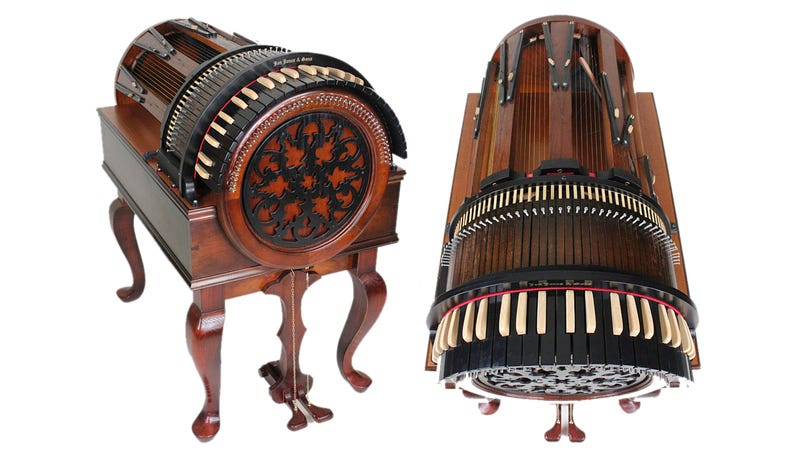 Hated Learning Piano As a Kid? At Least It Wasn't the Wheelharp
