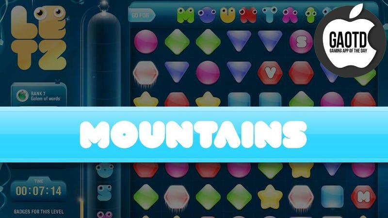 Match-Three Puzzles and Word Games Collide in One Phenomenal iOS Title