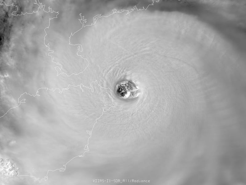 Super Typhoon Rammasun Strikes China with 155 MPH Winds