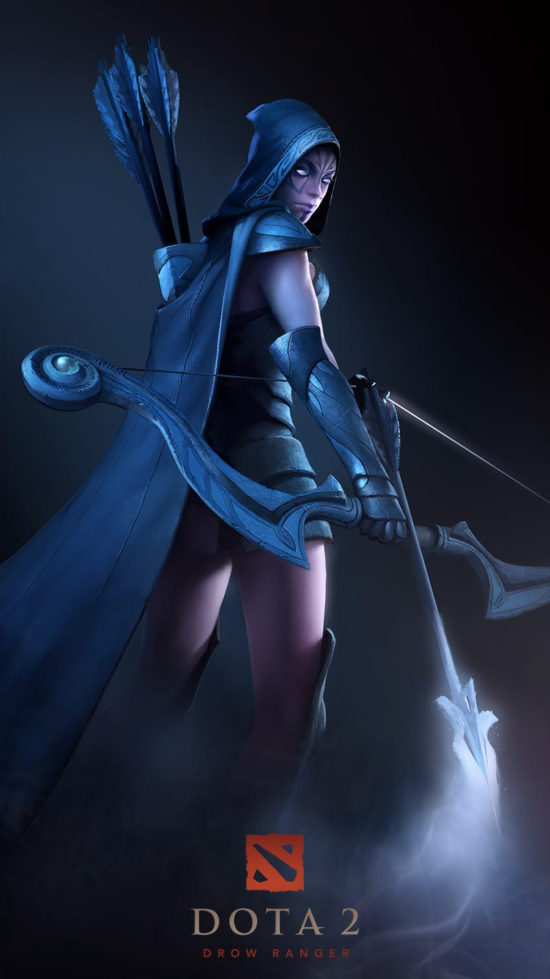 Dota 2's Character Art is Like Magic Candy for the Eyes