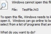 """Disable Windows' """"Use the Web Service"""" Prompt on Unknown Files"""