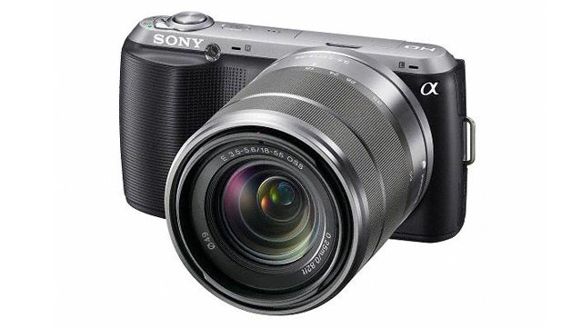 Sony's NEX-C3 Is the Smallest and Lightest Interchangeable Lens Camera