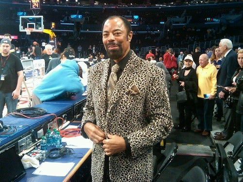 Clyde Frazier Killed A Zoo To Make His Outfit