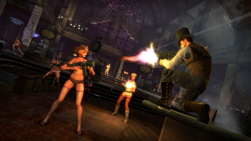 Parachute Fights, Naked Henchmen and Getting 'Whored,' All in the First 17% of Saints Row: The Third