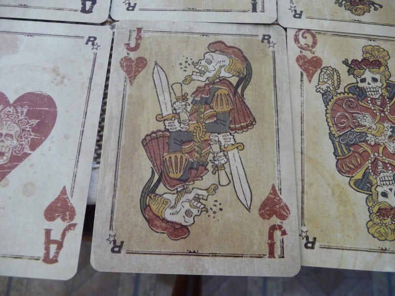 The Satanic Jokers and Laughing Jacks of Red Dead Redemption's Playing Cards