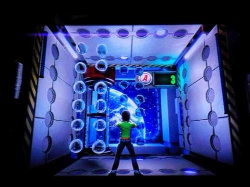Kinect Adventures Includes Underwater, Space Games, Online Play