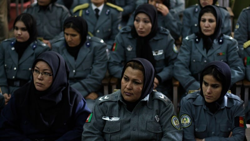 Researchers Insist That Afghan Policewomen Need Their Own Restrooms