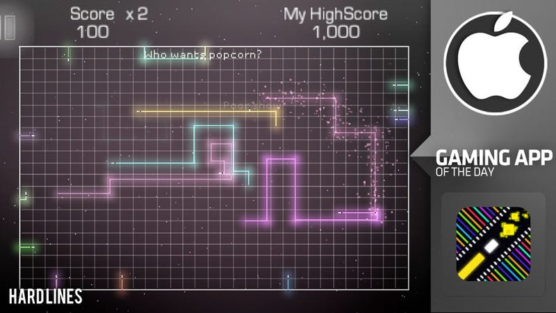 Hard Lines, A Very Solid Snake for Your iPhone