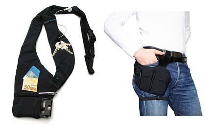 Shoulder, Hip Gadget Holder: This Year's Fanny Pack