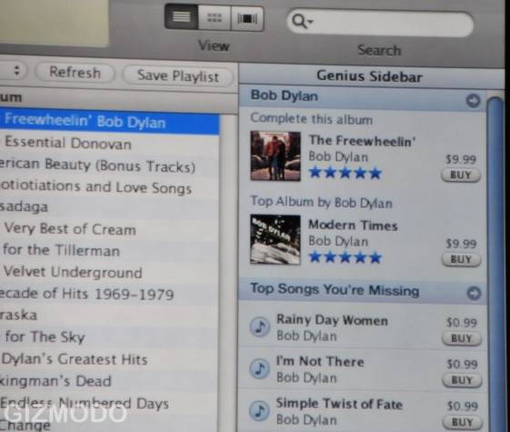 iTunes 8 First Look