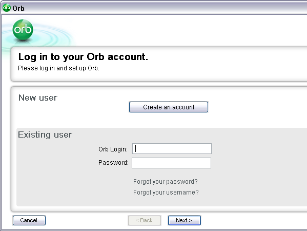 Stream your music with Orb