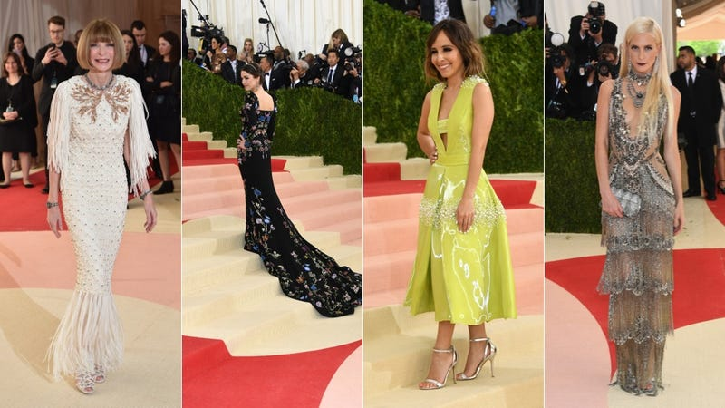 Light-up gowns and gladiators: Met Gala fashion was fierce