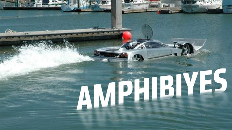 The World's 'Fastest Amphibious Car' Is For Sale