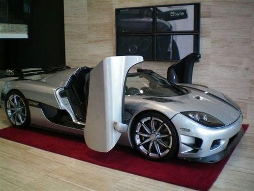 Koenigsegg CCCXR Trevita Gallery