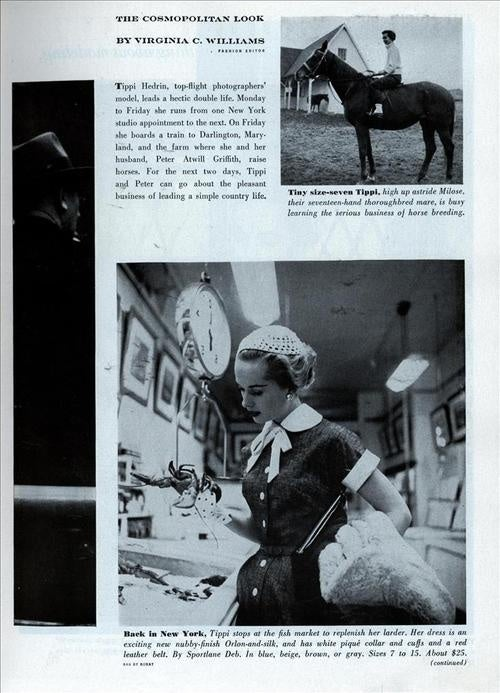 Style Tips From Tippi Hedren's Model Life