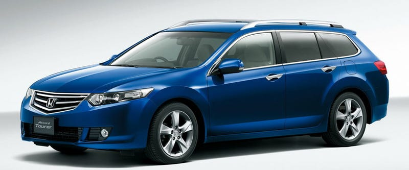 Acura TSX Sport Wagons, Ho! U.S. Getting Honda Accord Wagon