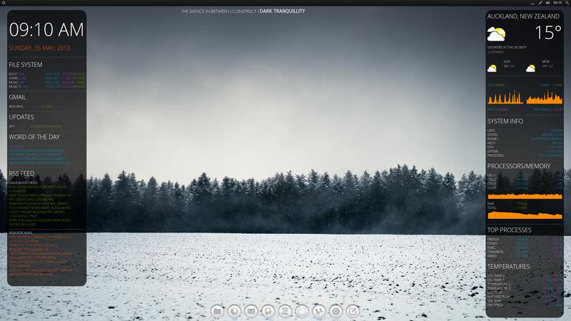 Snowy Desktop