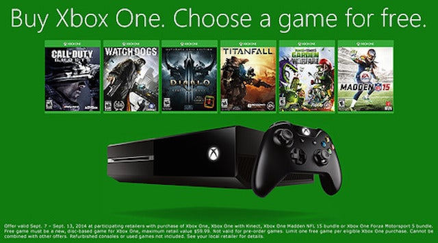 Xbox One With A Free Game, Harry Potter and the iTunes Bundle [Deals]