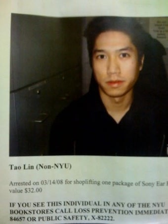 An Account of Being Arrested for 'Trespassing' NYU's Bookstore