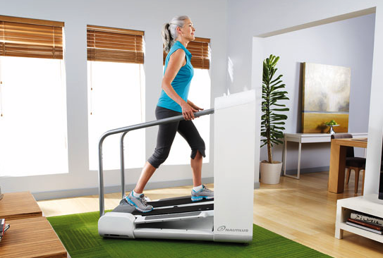Mobia From Nautilus Is the iPod of Treadmills